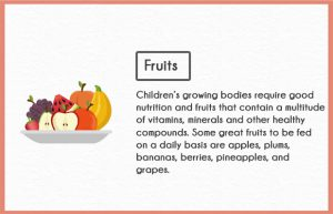fruits benefits for kids