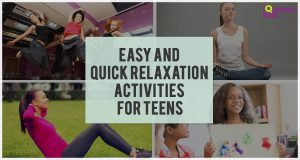 quick relaxation activities for teens