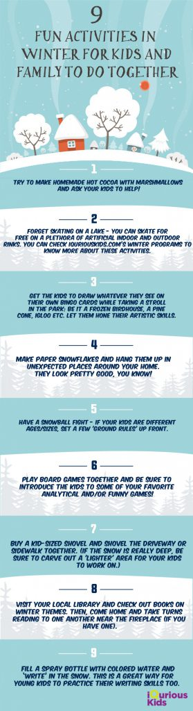 Fun activities for kids in winter