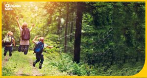 Nature trail benefits for kids