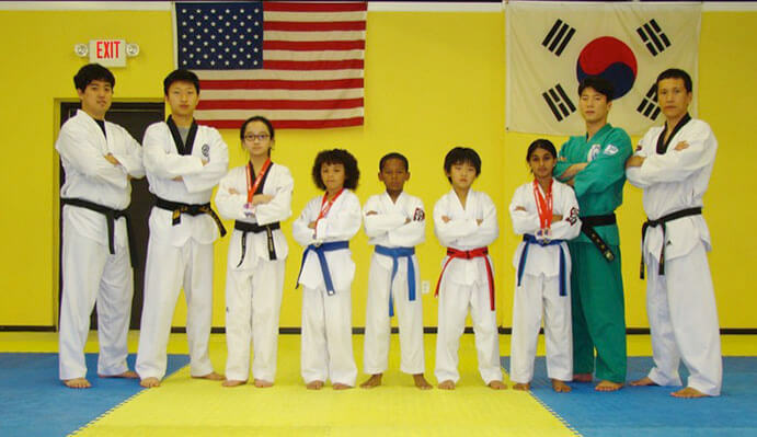 white tiger taekwondo - HD3030×1729