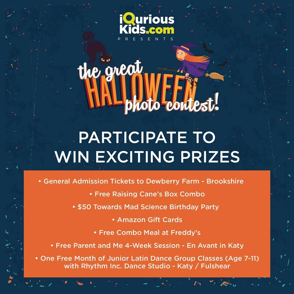 Halloween Contest - iQuriousKids